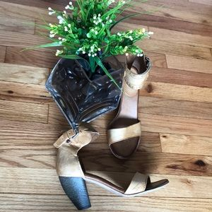 Leather Strappy Ankle Casual Work Party Low Heel